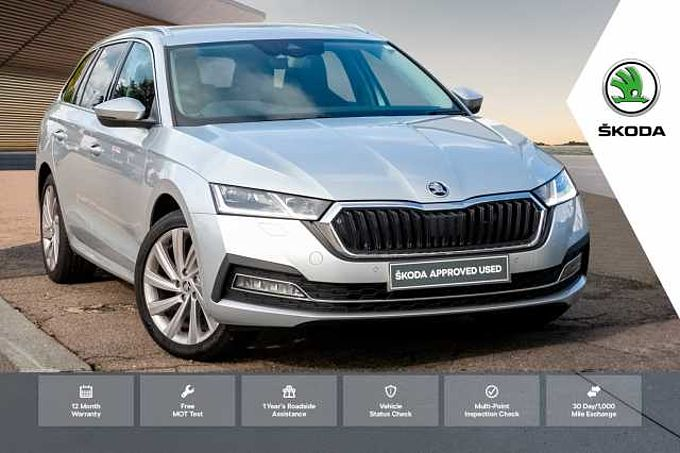 SKODA Octavia Estate Special Edition 1.5 TSI SE L First Edition 5dr